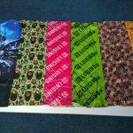 Sublimační potisk - šátek, tunel